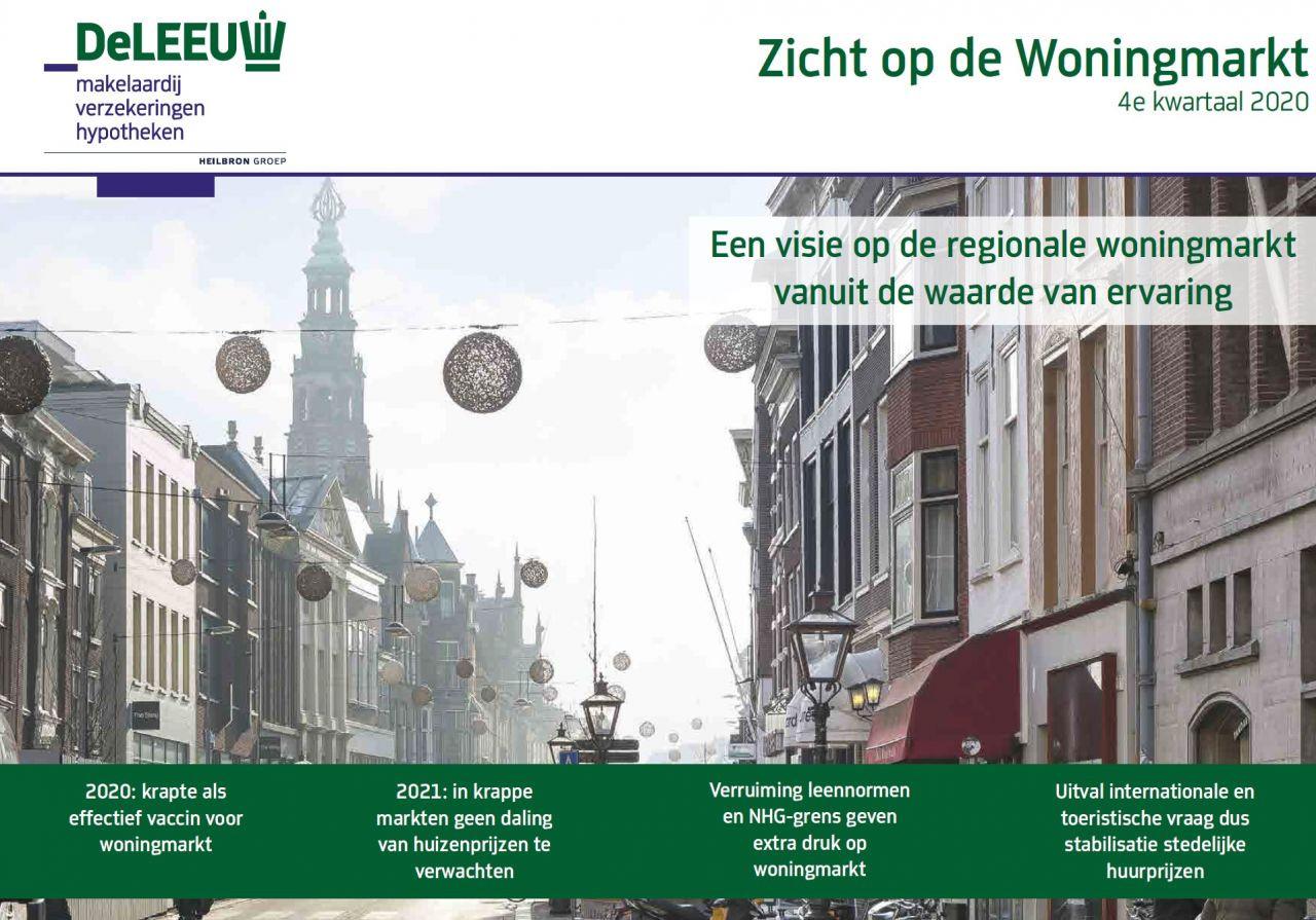 Zicht op de Woningmarkt - De belangrijkste trends op de regionale woningmarkt in het werkgebied van De Leeuw Makelaardij (januari 2021)