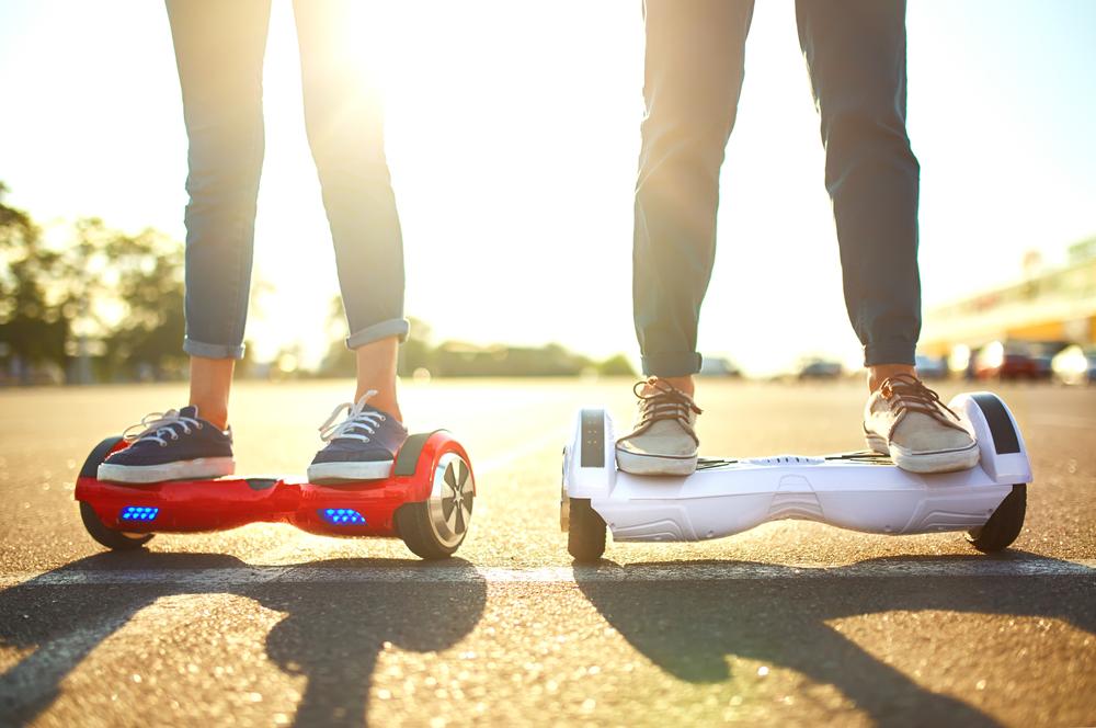 Hoverboards: verboden op de openbare weg, vaak niet verzekerd